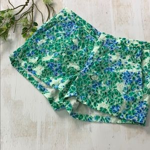 Madewell floral print women's shorts size 4
